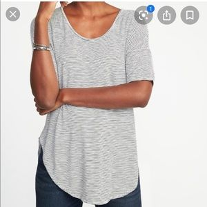 Old Navy luxe striped tunic
